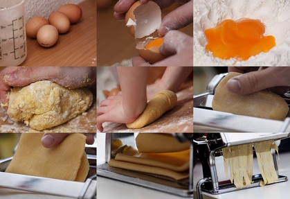 Mit der Pastamaschine gelingen selbst gemachte Nudeln leicht  (© A_Bruno - Fotolia.com)