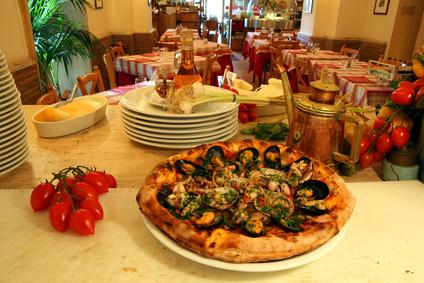 Pizza ai frutti di mare (© Rick Henzel - Fotolia)