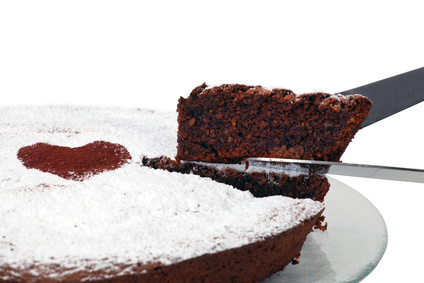 Torta Caprese - einfach köstlich! (© Antonio Gravante - Fotolia.com)