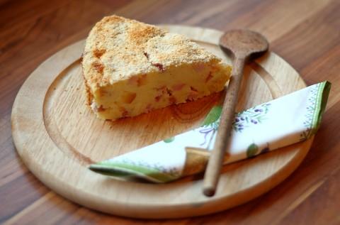 Kartoffelauflauf mit Salami, Schinken und Käse (© Redaktion - Portanapoli.com)