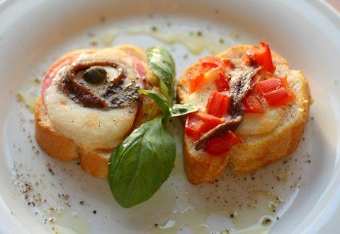 Neapolitanisches geröstetes Brot (© Redaktion - Portanapoli.com)