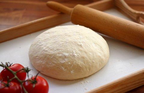 Pizzateig nach dem Gehen (© Redaktion - Portanapoli.com)