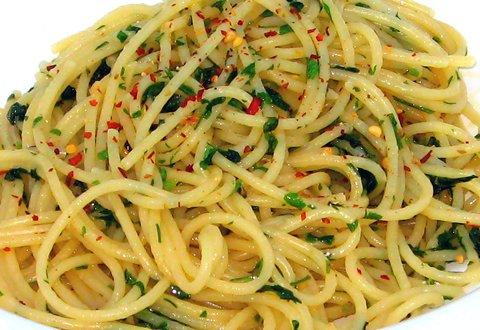 Spaghetti Aglio e Olio (© Redaktion - Portanapoli.com)