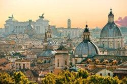 Blick auf Rom von der Engelsburg (© MasterLu - Fotolia.com)