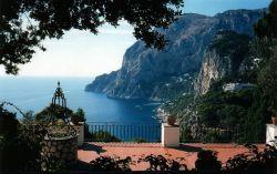 Aussichtsterrasse auf Capri an der Via Tragara (© Redaktion - Portanapoli.com)