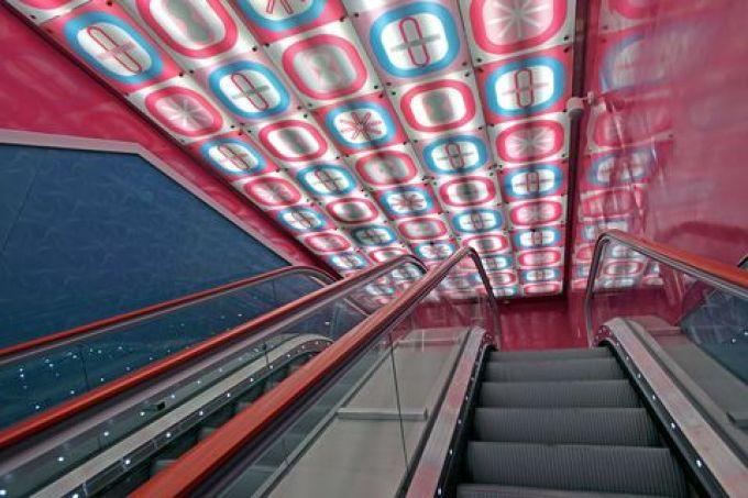 Station Unversità der Linie 1 (© Peppe Avallone - foto archivio metronapoli spa)