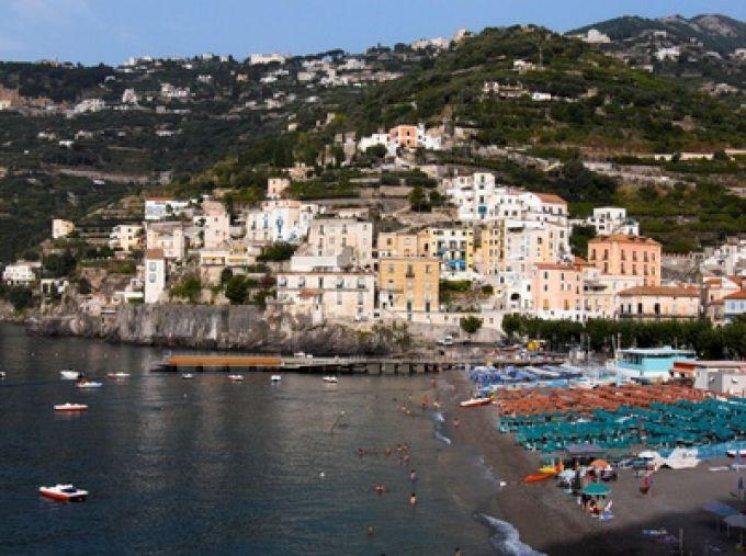 Panorama von Minori (© ollirg - Fotolia)