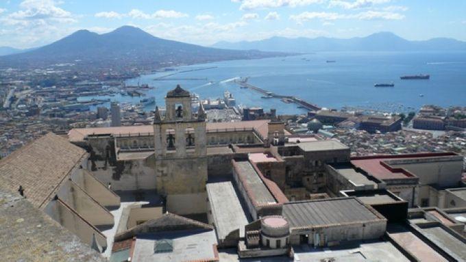 Neapel vom Kloster San Martino (© Umberto - Portanapoli.com)