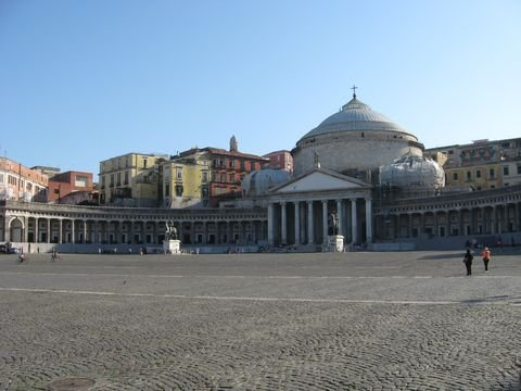 Piazza Plebiscito in Neapel (© Redaktion - Portanapoli.com)