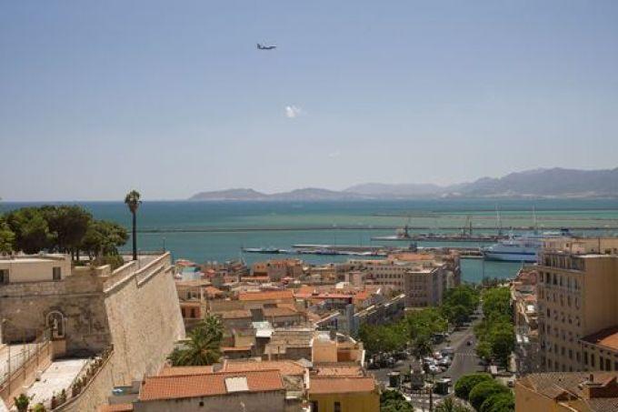 Cagliari in Sardinien - Blick von der Burg (© Sandro Bedessi - Fototeca ENIT)