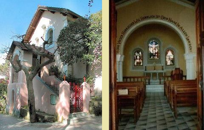 Evangelische Kirche auf Capri (© Comunità Evangelica Luterana di Napoli)