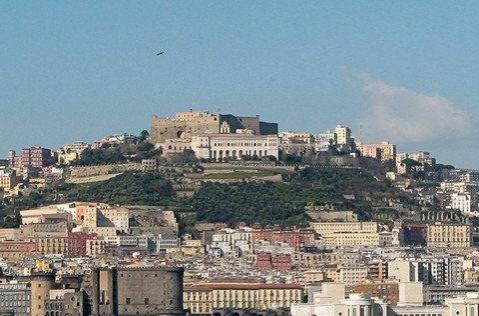 Unterhalb der Burg Sant'Elmo liegt das Kloster San Martino (© Redaktion - Portanapoli.com)