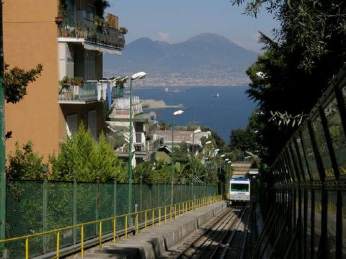 Funicolare di Mergellina (© foto archivio metronapoli spa)
