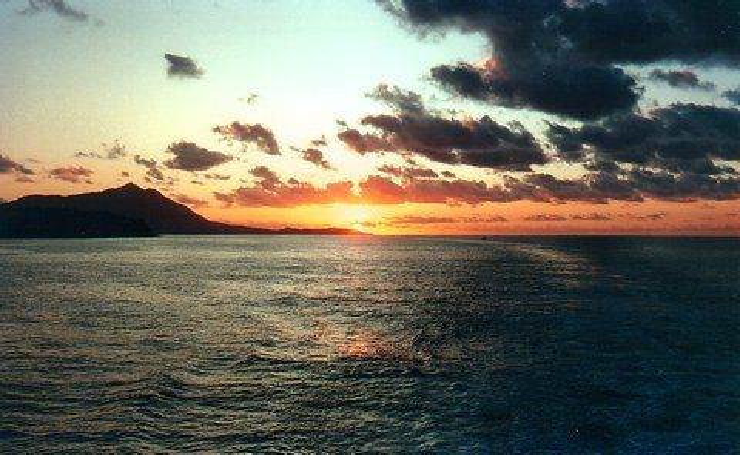 Sonnenuntergang bei Ischia (Redaktion - Portanapoli.com)
