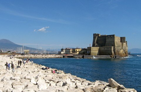 Castel dell'Ovo in Neapel (© Redaktion - Portanapoli.com)
