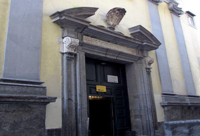 Eingang der Kapelle San Severo (© Umberto - Portanapoli.com)