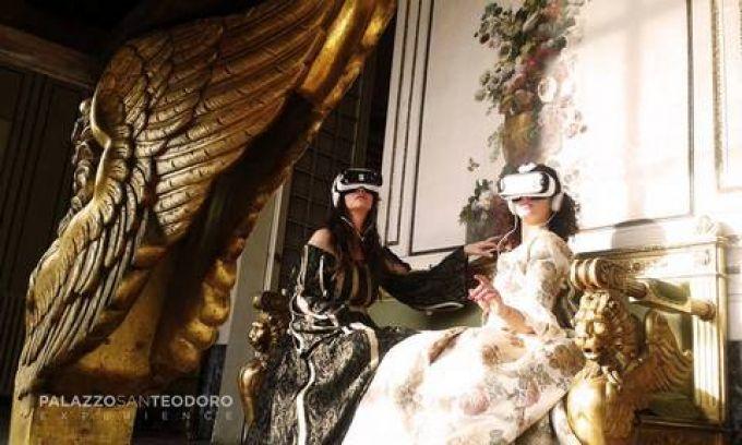 Im Palazzo San Teodoro tauchen Sie in eine virtuelle Welt ein (© Palazzo San Teodoro Experience)