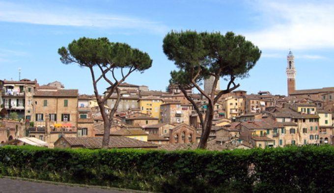 Panorama von Siena (Redaktion - Portanapoli.com)