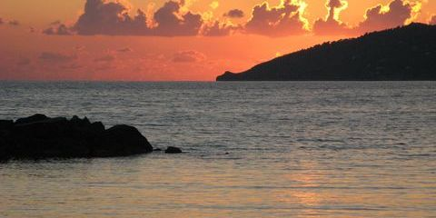 Herbstlicher Sonnenuntergang in Casal Velino (© Francesca - Portanapoli.com)