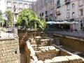 Ausgrabungen auf der Piazza Bellini in Neapel (© Redaktion - Portanapoli.com)