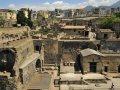 Panorama der Ausgrabungen von Herculaneum (© Gino Cianci - Fototeca ENIT)